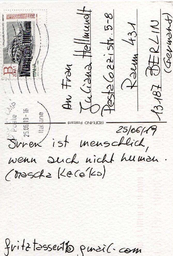 Fritz Tasser, Bruneck (Italy)