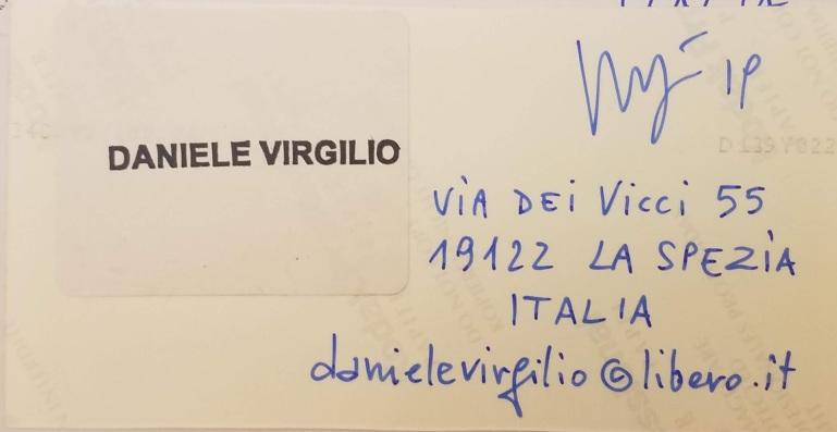 Daniele Virgilio, La Spezia, (Italy)