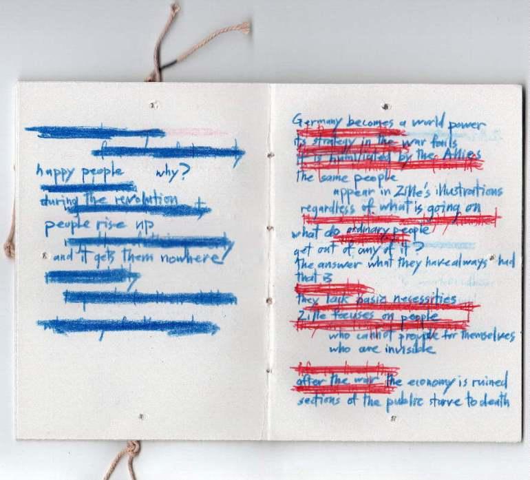 Simon Warren, Artist Book, Tring (UK)