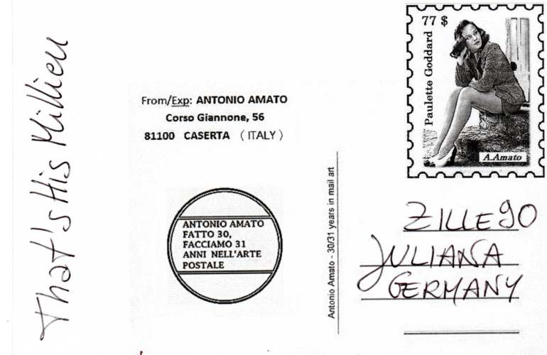 "Antonio Amato, Caserta, ""That´s His Milieu"" (Italy)"