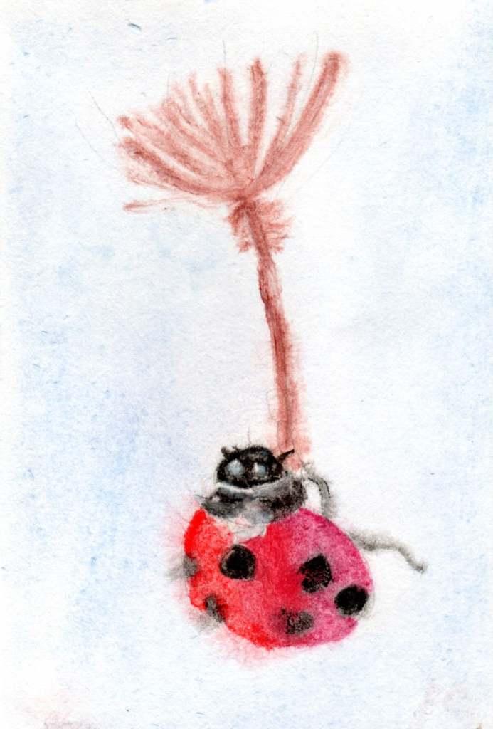 Juraj Jonke, Leteća Bubamara / Flying ladybug (Zagreb, Croatia)
