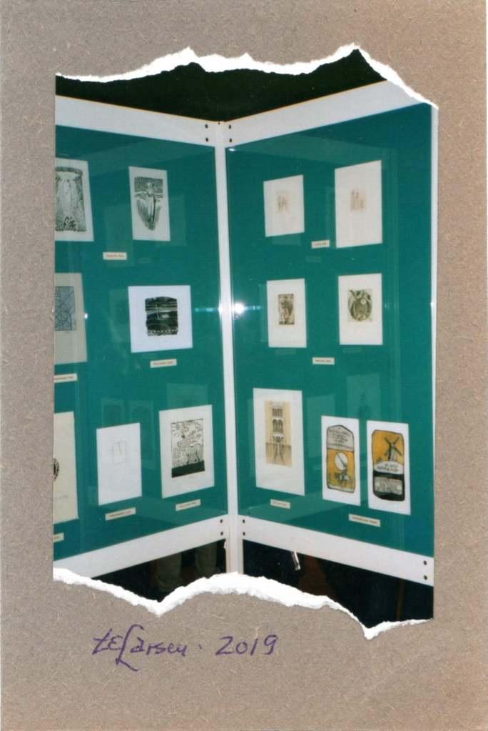 Torill Elisabeth Larsen, 'Es libris-Exhibition Poland' (Oslo, Norway)