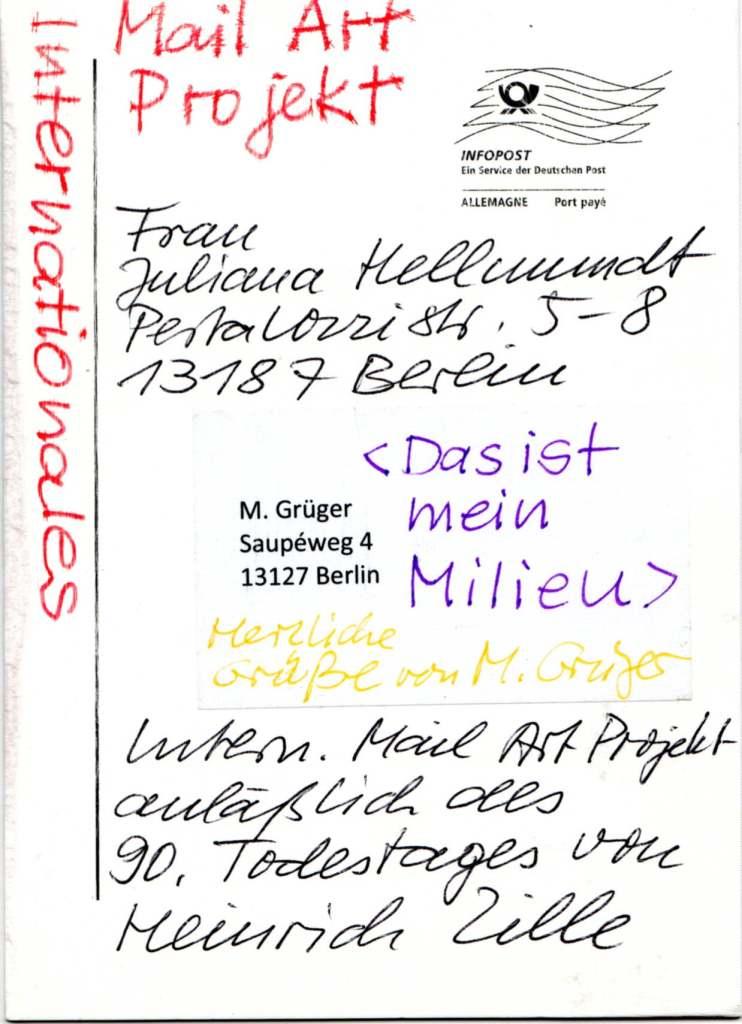 Margit Grüger, Berlin (Germany)
