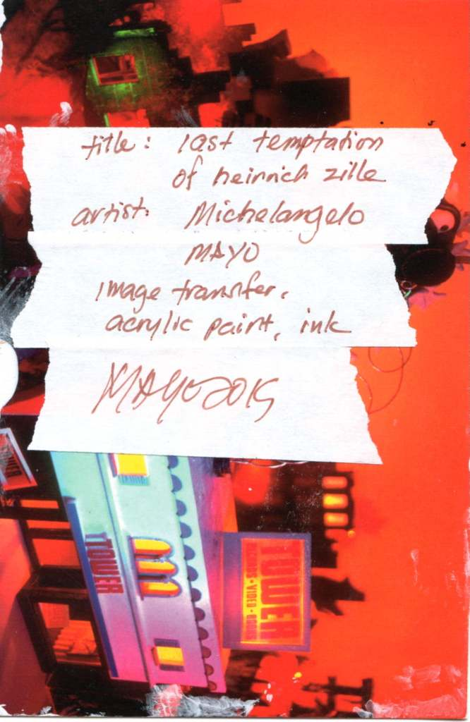 Michelangelo Mayo (San Jose, USA)