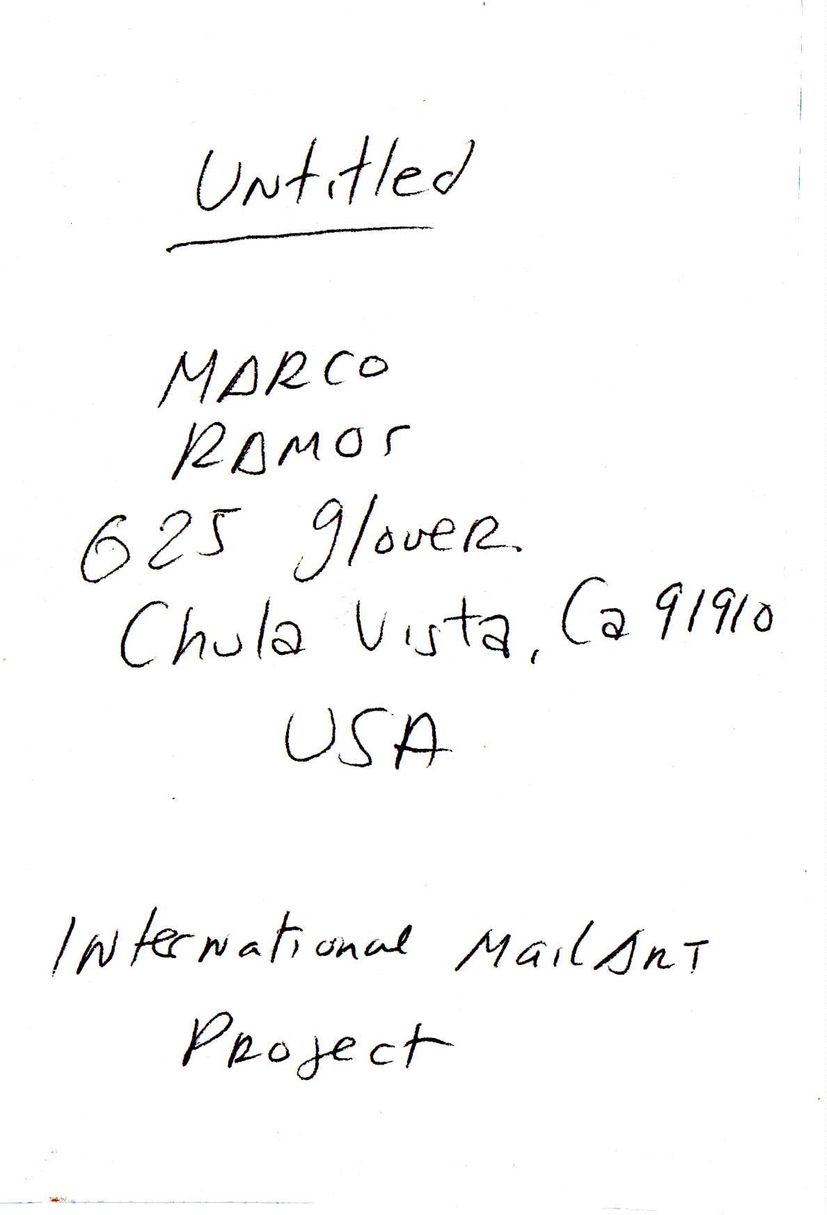 Marco Ramos, San Diego (USA)