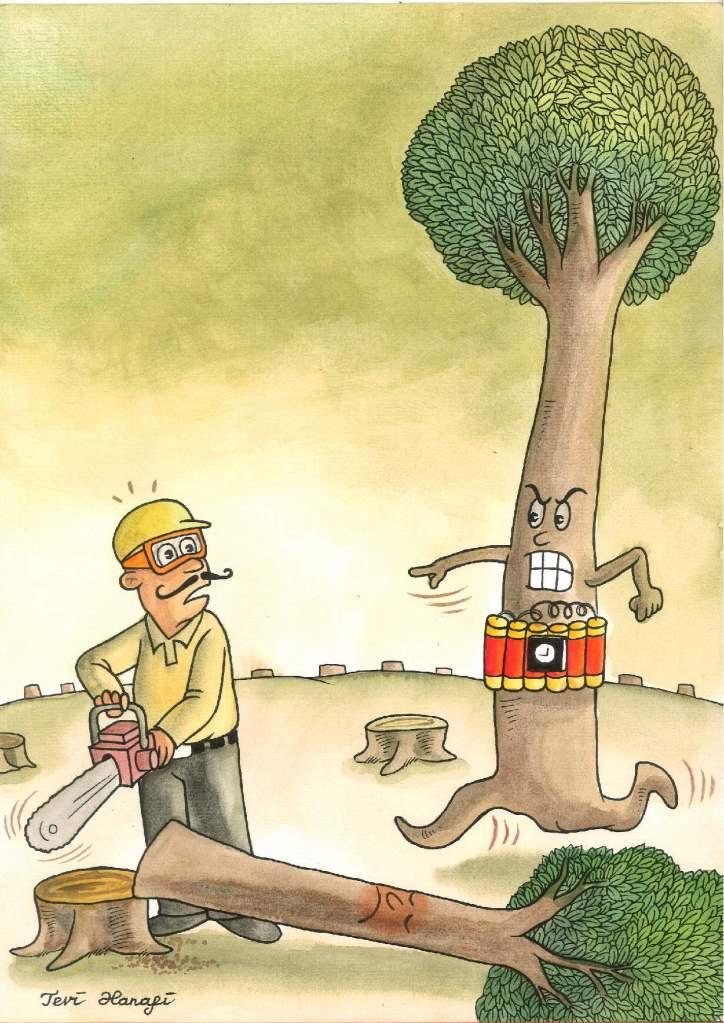 Tevi Hanafi, 'Tree Angry' (Indonesia)