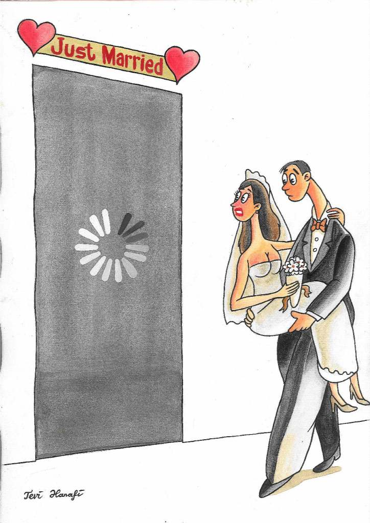 Tevi Hanafi, 'Loading Just Married' (Indonesia)