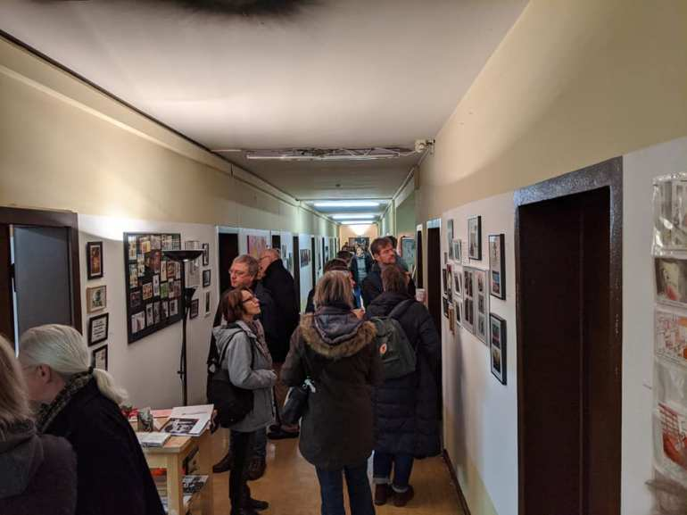 Opening day of the exhibition (Foto Benjamin Hellmundt)